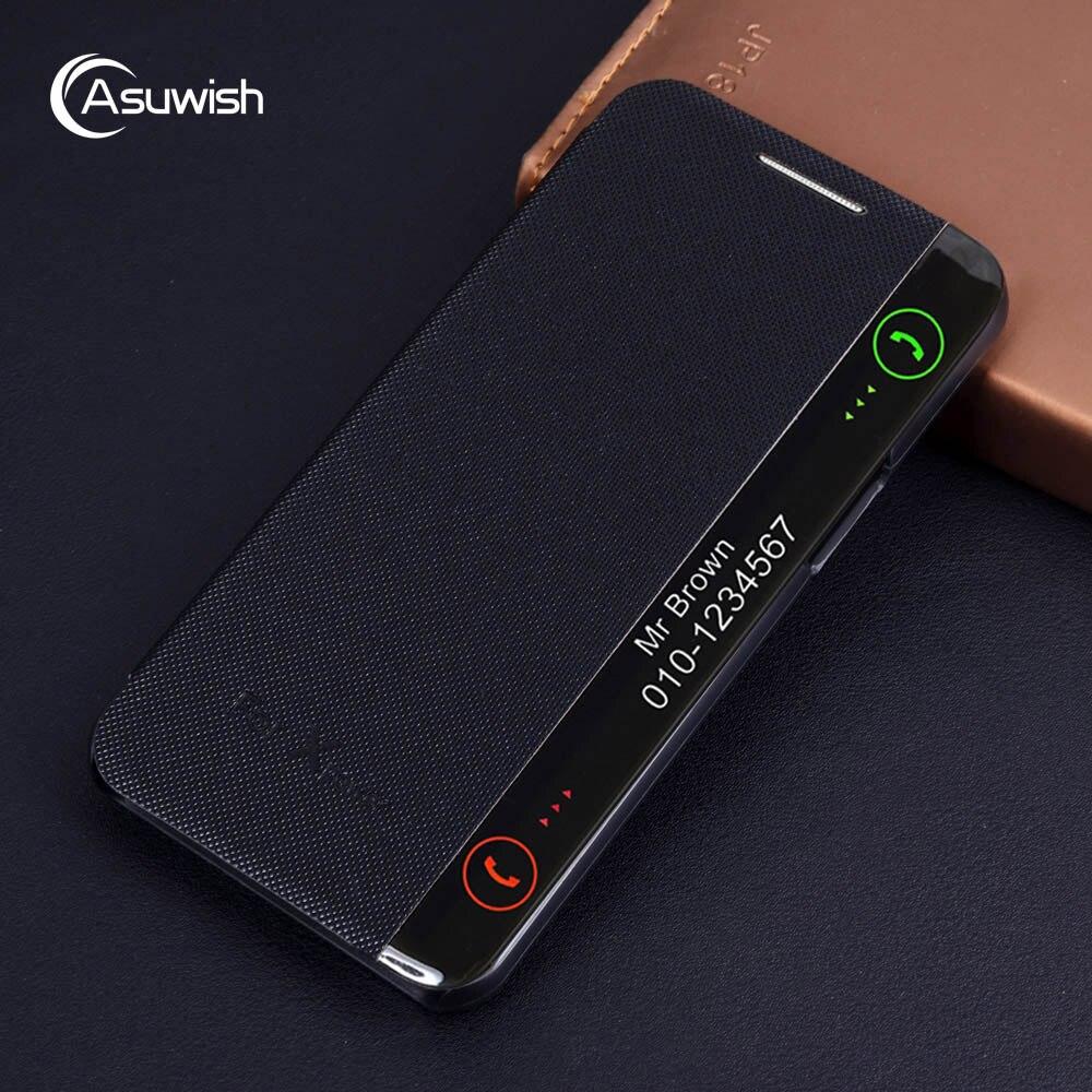 Luxus Leder Smart View Flip Fall Abdeckung Für LG X Power LGX Xpower LGXpower K210 K220 K220DS K220DSZ K 220 DS Stoßfest Funda