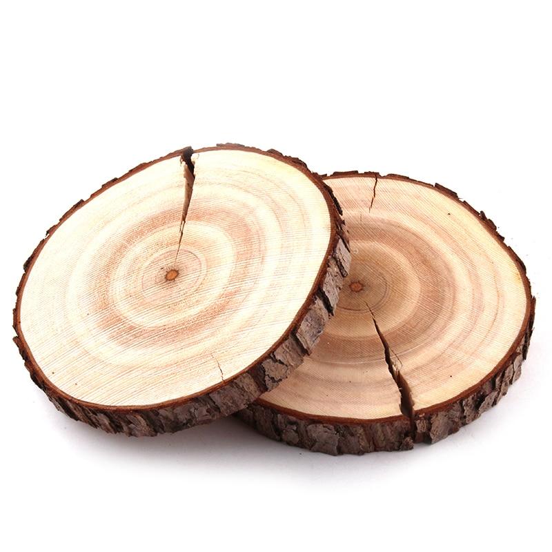 Envío Gratis círculo de madera redondo soporte para presentación de joyería