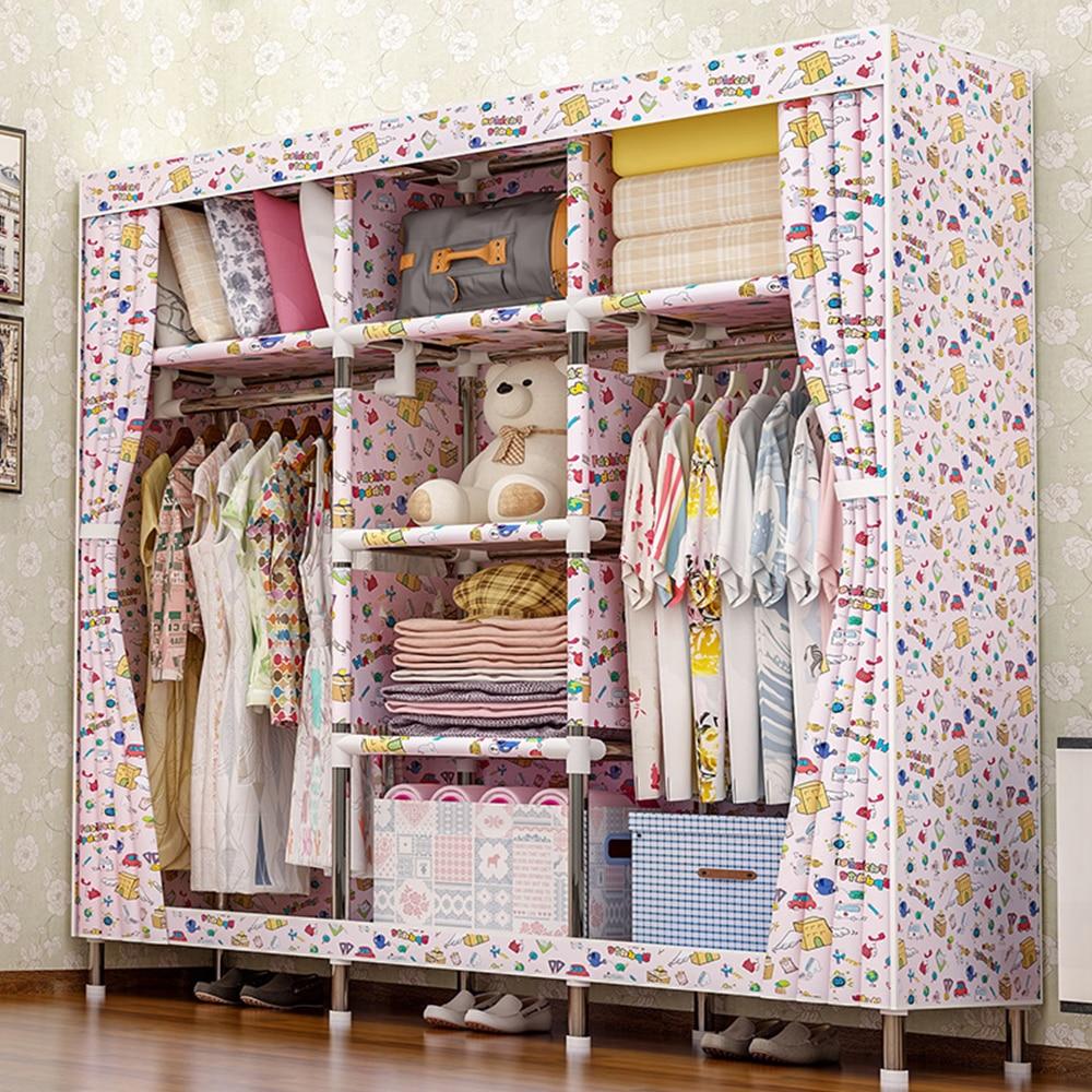 комод шкаф для одежды Мебель шкаф для хранения спальня мебель вешалка напольная тканевый шкаф мебель для дома шкаф гардероб шкаф для ванной...