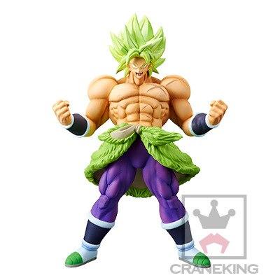 Figuras de acción de PVC animé Dragon Ball Super Broly CRANEKING BOLA DE Dragón de juguete Z SSJ Broli figuras de potencia completa juguetes DBZ