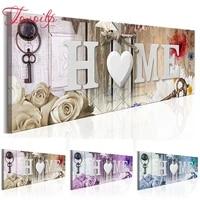 TOUOILP     peinture diamant theme Rose  broderie complete 5d  perles rondes et carrees  points de croix  mosaique  bricolage  maison douce