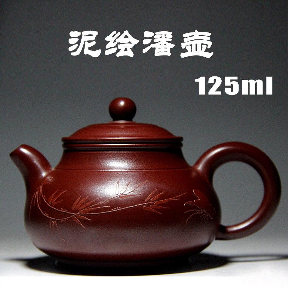 Pan чайники Yixing Zisha чайник известная ручная работа Специальная цена сырье руды Zhu Dan Dahongpao Подлинная грязь окрашенные оптом
