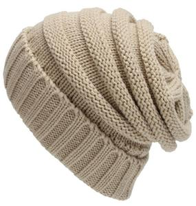 Unisex Trendy Men Women Beanie Winter Hats Caps for Men and Women Warm Chunky Soft Stretch Cable Knit Slouchy Beanie Skully