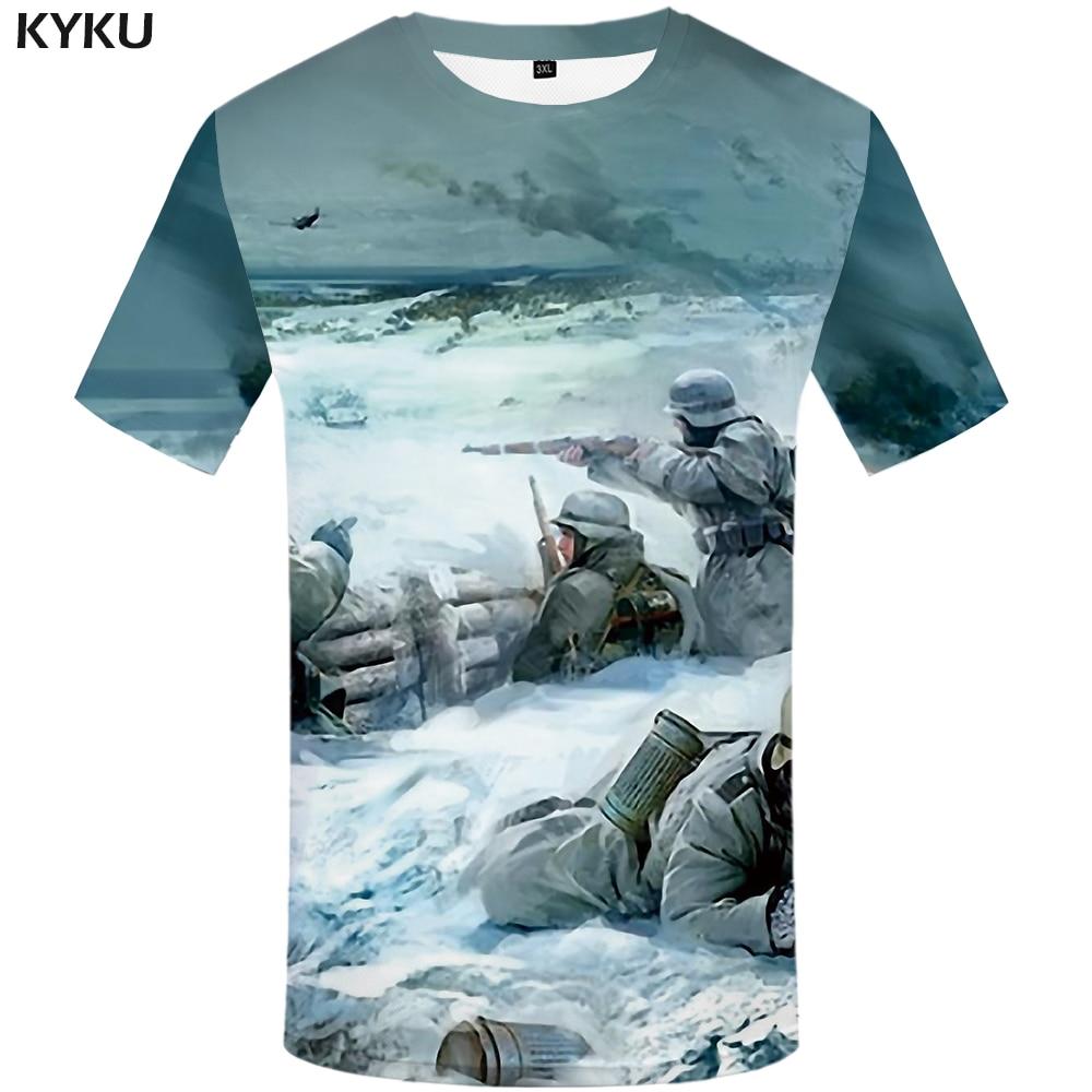 Funny T shirts War T shirts Men Russia Print Military Tshirt Printed Character Tshirts Casual Snow T shirt 3d Mens Clothing New