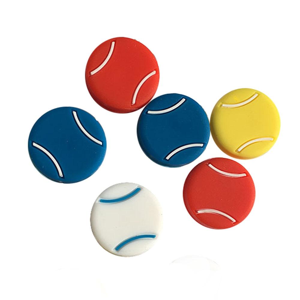 Envío gratis (100 unids/lote) Djokovic/húmedo raqueta de tenis vibración amortiguadores/raqueta de tenis