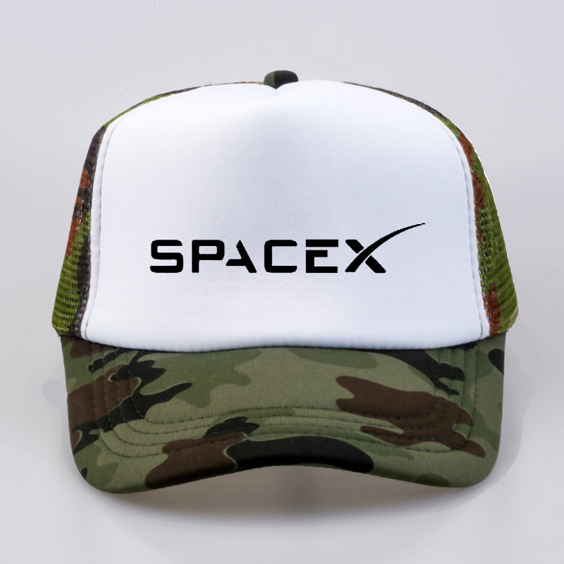 AliExpress - Hot Sale SpaceX Baseball caps UFO Men Women hats summer Outer Space Rocket Musk Fans Sport Active Cool hat Mesh Net Trucker Cap