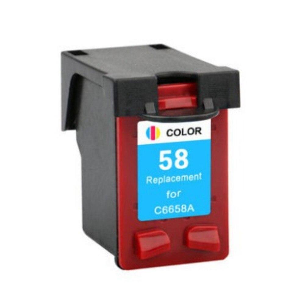 Hisaint para HP 58 C6658A 6658, cartucho de tinta para impresora de inyección de tinta HP Deskjet 5650 5650 5850w 5850 9650 9670 9680, Envío Gratis