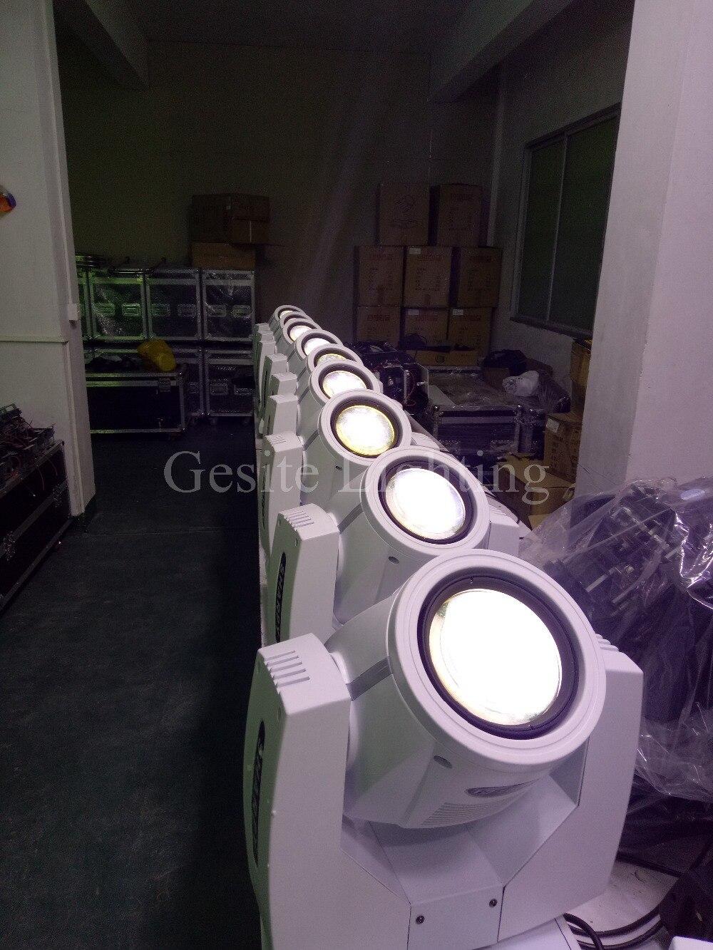 7R 230W haz de luz AC110-240V RGBW 4 en 1 luz con cabezal móvil escenario discolights equipo profesional de DJ
