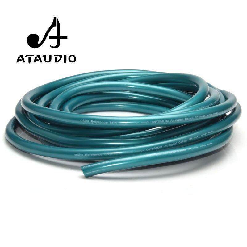 ATAUDIO 8N OCC Hifi RCA XLR luzem kabel do Diy wysoki czysty miedziany kabel połączeniowy Audio luzem