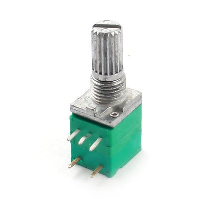 50K Ohm 5-контактный сквозное отверстие крепление Поворотный Регулируемый конический потенциометр переключатель