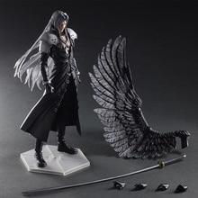 Paly Gioca Arts Kai Final Fantasy VII 7 Sephiroth PVC Action Figure Squall Leonhart Gunblade Figure Da Collezione Model Toy