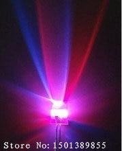 Diode électroluminescente F5 multicolore arc-en-ciel, 5mm, 7 couleurs, Flash lent, Diode électroluminescente ronde LED, 1000 pièces