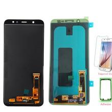 Test Gut TFT LCD Bildschirm Für Samsung A6 + A605 A6050 LCD Display Touchscreen Digitizer Für Samsung Galaxy A605 LCD A6 + A6 Plus