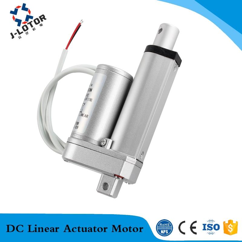 Actuador lineal de 800mm 24v DC 7-60 mm/s 150-1300N actuador de ventana eléctrica, motor de actuador de cama eléctrica