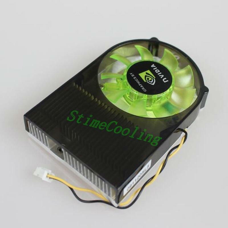 1 Uds. Dos rodamientos de bolas 2pin 55mm VGA tarjeta de vídeo enfriador ventilador