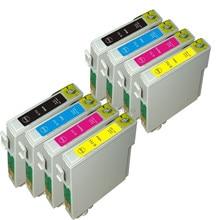 8 cartouches dencre pour stylet DX6000 DX6050 DX7000 DX7000F DX7400 DX7450 DX8400 DX8450 DX9400 DX9400 F imprimante