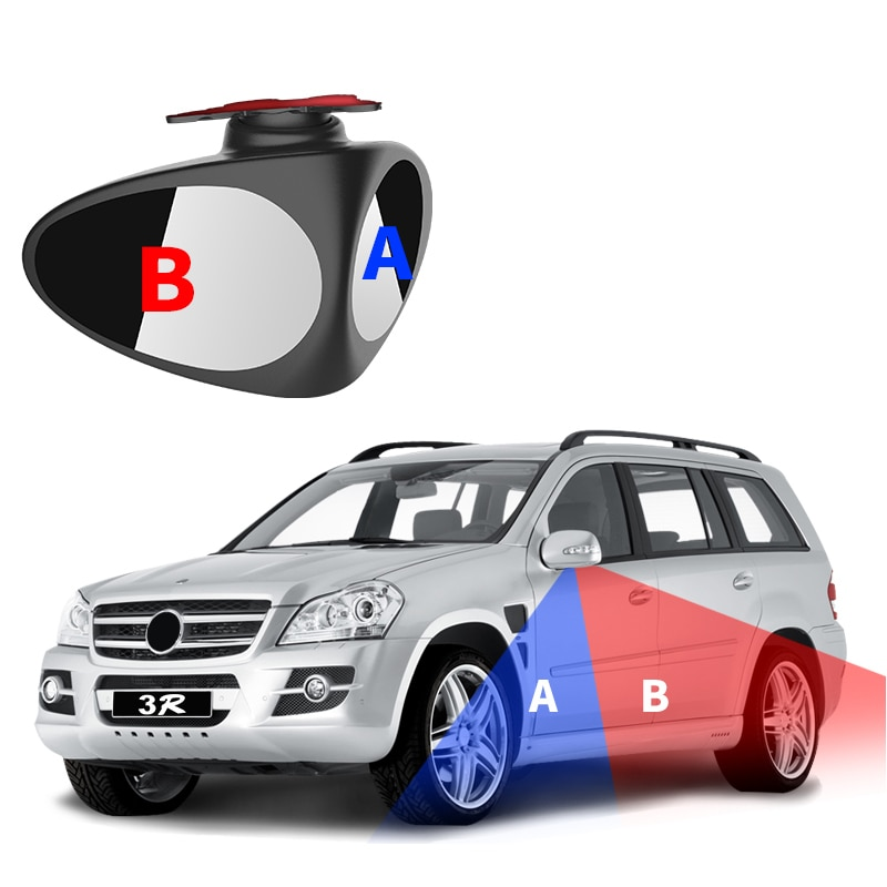 Espejo retrovisor auxiliar de coche para Kia Rio K2 K3 Ceed Sportage 3 sorento cerato reposabrazos picanto soul optima