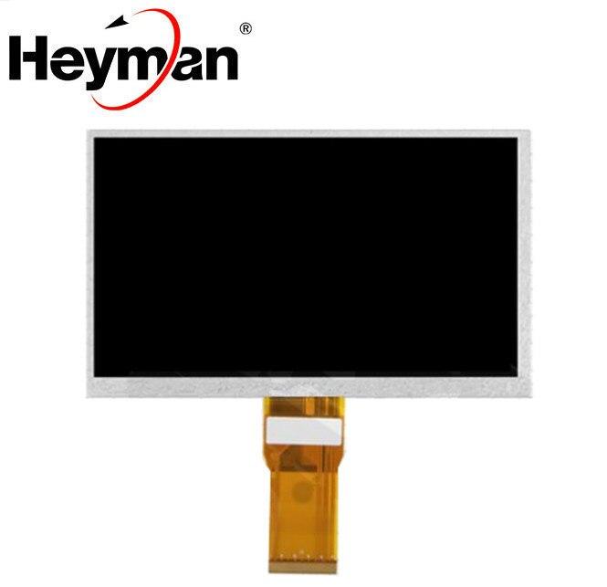 Heyman 7 ''Размер ЖК-экран (1024*600), (165*100 мм), 65 мм плоский кабель, 50 pin) для планшетного ПК Lattepanda Raspberry Pi Banana Pi