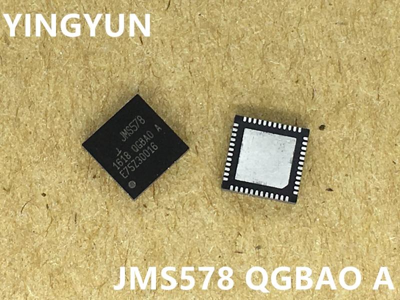 10 unids/lote JMS578-QGBAOA Chip maestro JMS578 QFN-48 SATA a USB 3,0 nuevo original