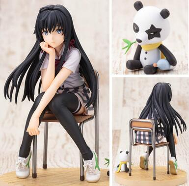 14,5 cm Mein Teen Romantische Komödie SNAFU Yukinoshita Yukino Anime-action-figur PVC Neue Kollektion figuren spielzeug Sammlung