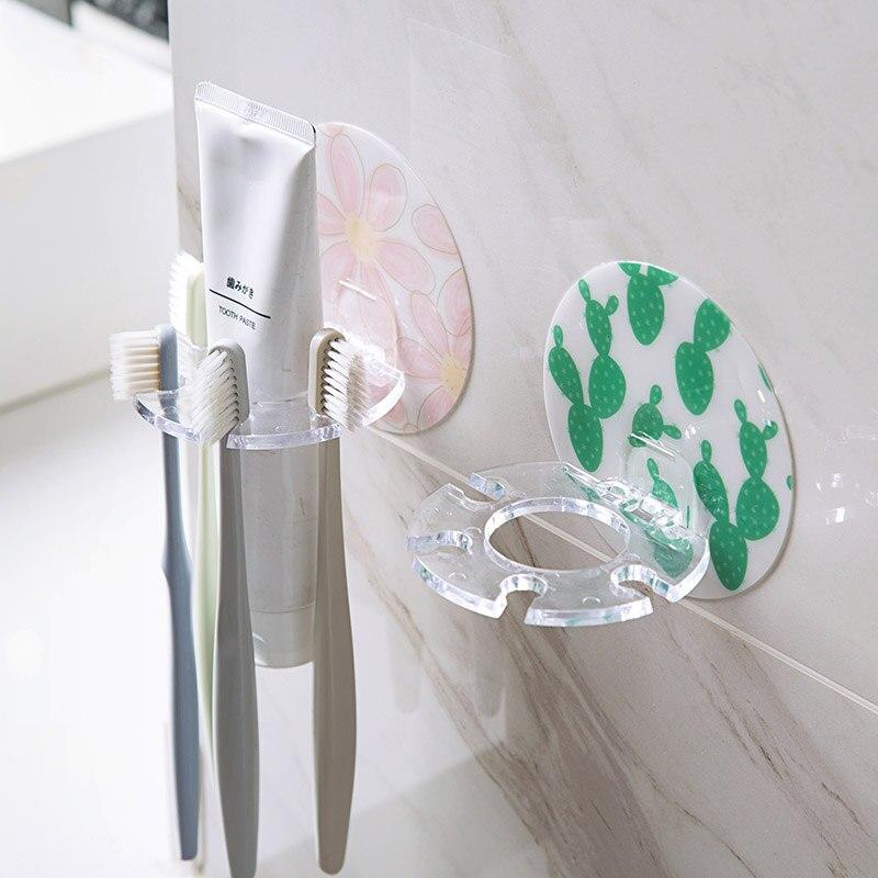 Vanzlife держатель для зубной щетки без туалета, подставка для хранения бритв, настенный держатель для чистки зубов, полка для мытья зубов