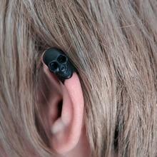 Punk oreille manchette clip sur boucles doreilles pour les femmes hommes vintage bijoux crâne clip boucles doreilles sans piercing oreille wrap oreillettes brinco
