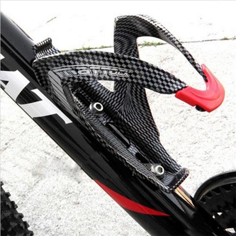 MTB Bike Road bidon rowerowy klatka Carbon włókno szklane uchwyt na bidon uchwyt na butelkę akcesoria rowerowe