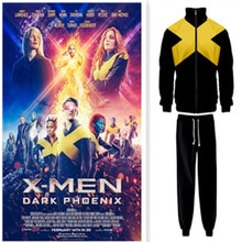 Coat cosplay 2019 hoodies X-Men Dark Phoenix cosplay costume sweat mens womens hoodies top pants for adults Suit