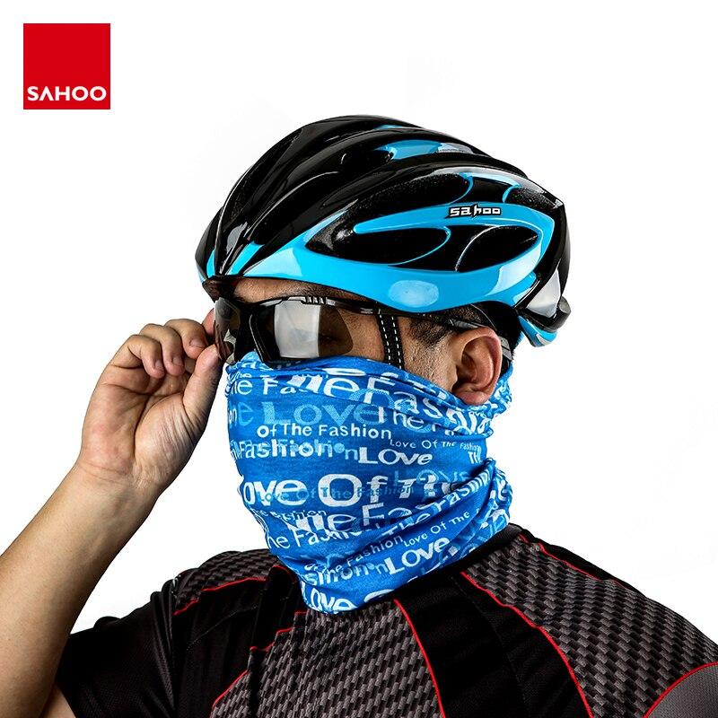 Sahoo 45931 multifuncional esportes ciclismo headwear bandana balaclava rosto capa equitação cachecol sweatband hairband ginásio