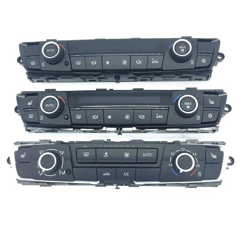 Coche, cuadro de control de aire acondicionado serie 1 serie 3 F20 F30 F35 320b mw328 335, 116 de 118 X6 aire acondicionado asiento interruptor panel