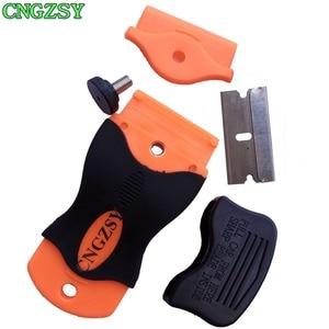 Image 3 - 1 шт., нож для удаления клея на экран мобильного телефона + 100 шт., металлические лезвия, разборка, Чистый скребок, шлифовальная лопата, Oca клей, автомобильные инструменты K03