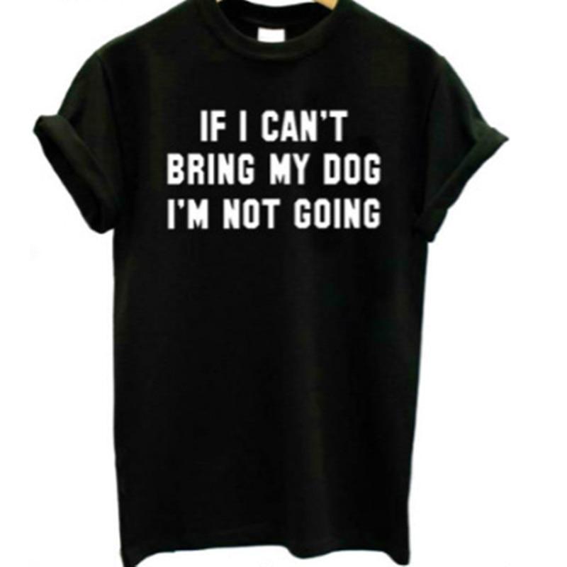 Фото - Футболка Skuggnas с надписью If i can, с надписью «If i can», с надписью «i m going», с надписью «not going», футболка для любителей собак, хипстер, tumblr, черная же... футболка laredoute с надписью i said oui wesley 0 xs белый