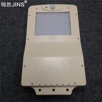 Outdoor светильник с датчиком движения solar light small streetlight Human induction Waterproof flame retardant ABS lamp body