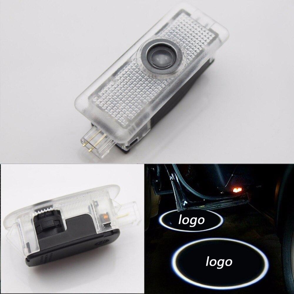 2x Светодиодный светильник со специальным логотипом, дверной светильник, лазерный прожектор, светильник для E класса, Cabriolet A207(E550 E400 E350 E320 E300