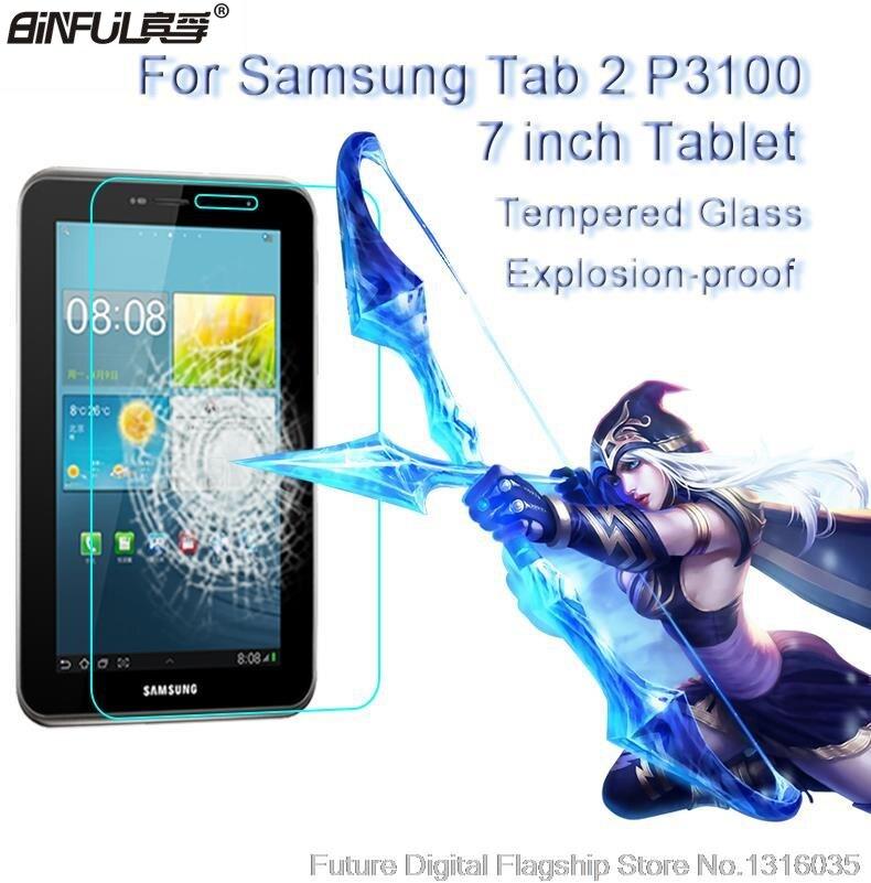 El mejor vidrio templado Premium para Samsung Galaxy Tab 2 7,0 P3100 P3110 P3108 9H película protectora de pantalla transparente dura