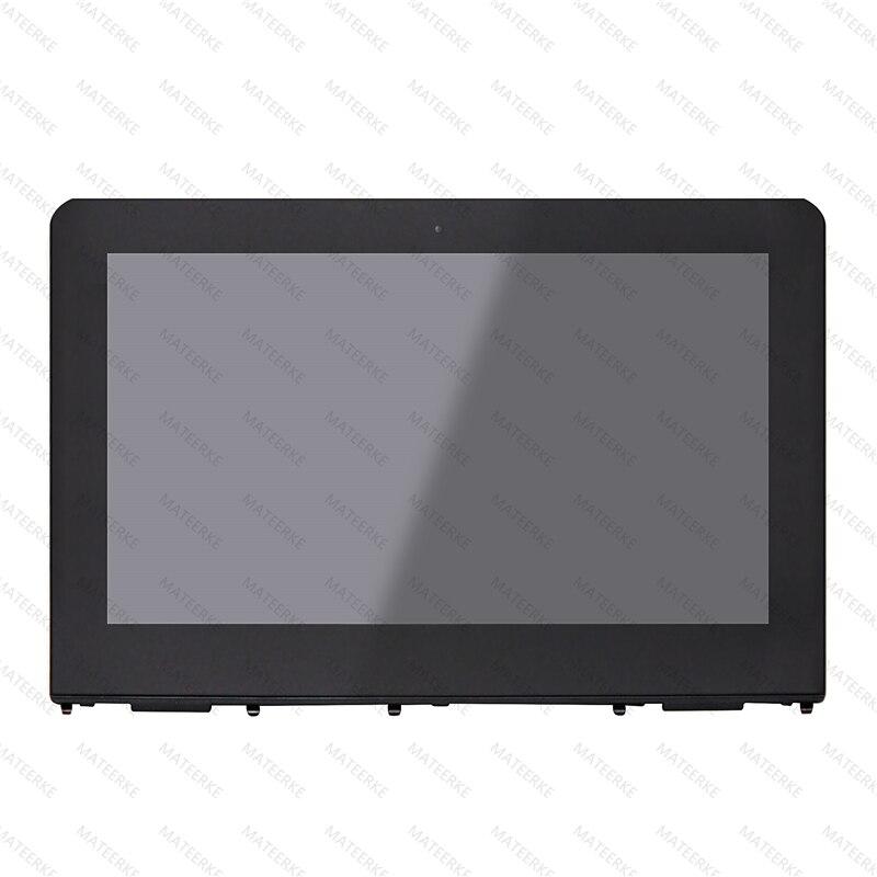 11.6 ''LCD تعمل باللمس الزجاج الجمعية مع الحافة ل HP X360 11-AB 11-AB011DX 11-ab005nf 11-ab001na 11-ab000na 906791-001