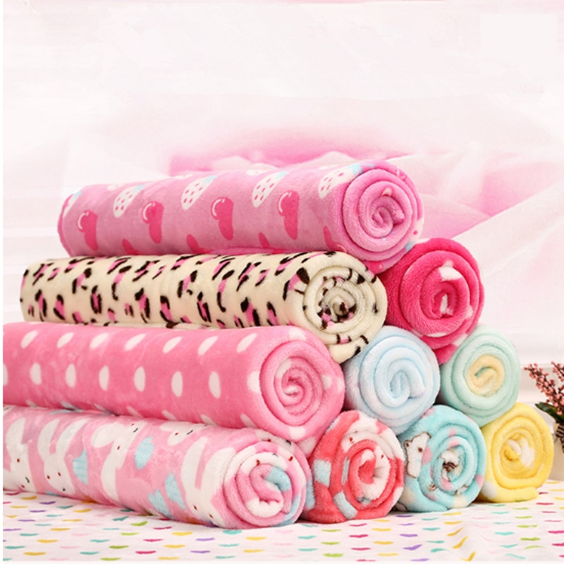Halben meter zwei-seitig baumwolle flanell stoff mit kaninchen, kleidungsstück teppich pyjamas bett blatt DIY baby der tuch plüsch stoff 144a