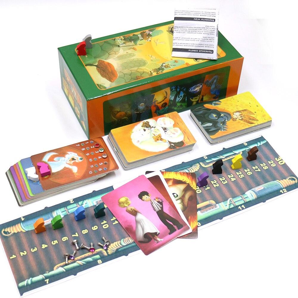 Английская версия dixit 1, 2, 3, 4, 5, 6, 7, настольная игра, деревянные зайчики, Обучающие Детские игрушки для семейных игр, 2019