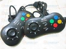 2 pièces seconde main Original SNK Joypad filaire NEOGEO manette Saturn contrôleur de jeu Arcade classiques style rétro Saturn Joystick