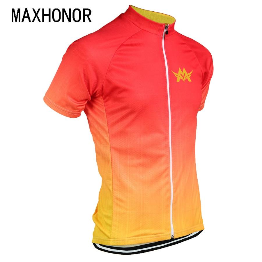 Maillot de ciclismo para hombre, maillot amarillo para ciclismo, maillot de bicicleta California, camiseta para ciclismo, ropa roja, jersey personalizado maxhonor