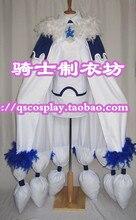 2016 Costume de Cosplay Yukino Aguria jeune queue de fée