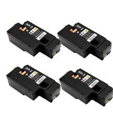 4 cartouche de toner noir pour Fuji Xerox DocuPrint CM115w CM115 CM225w CM225 CP115w CP115 CP116w CP225W cartouche de toner laser