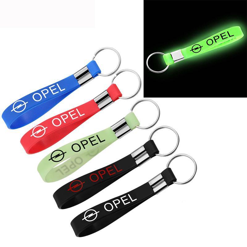 Новая наклейка для машины, силиконовая эмблема, значок, автомобильный брелок, брелок для OPEL Corsa Insignia Astra Antara Meriva, аксессуары для стайлинга автомобилей