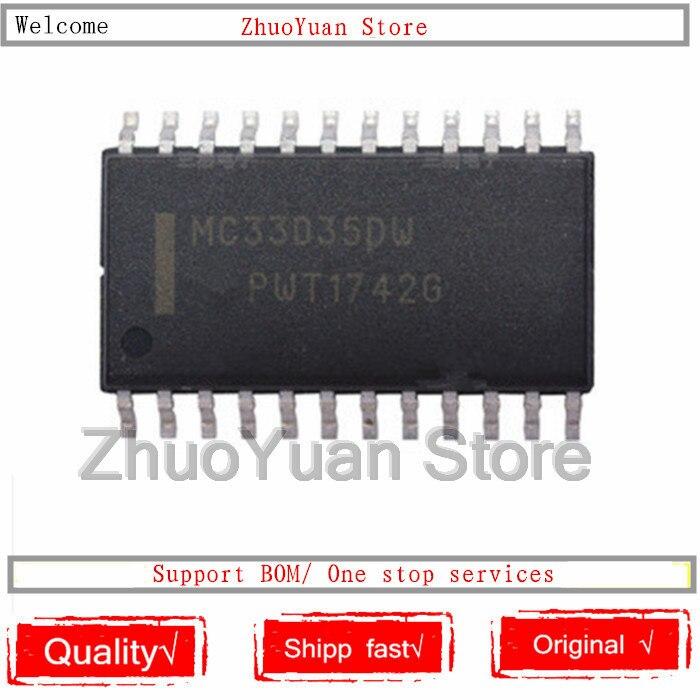 1 unids/lote MC33035DW MC33035DWR2G SOP-24 nuevas Chip IC original