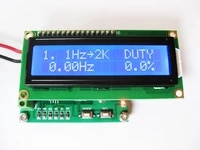 free shipping hf280 digital phase meter 0 0360 0 duty cycle 0 099 9 frequency measurement and temperature function