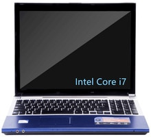 Ordinateurs portables originaux DEEQ 15.6 pouces 8GB DDR3 + 120GB SSD + 750GB HDD Intel Core i7 CPU jeu ordinateur portable ordinateur portable avec DVD-RW