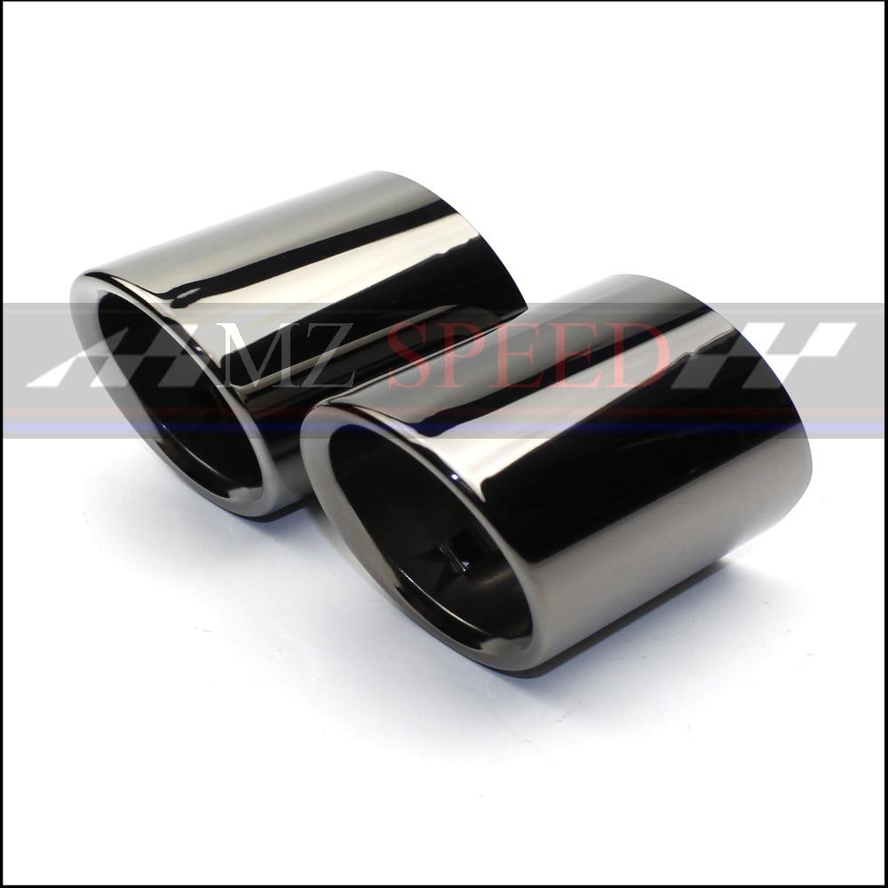 Accesorios 2 uds silenciador trasero tubo de escape para BMW 5 Series 528i 530i 535d 535i F10 F18