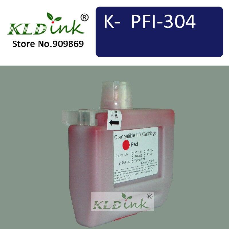KLDINK-Substituição do Cartucho de Tinta Compatível para PFI-306R (PFI-304) para imagePROGRAF iPF8400, iPF8400SE, impressoras iPF9400