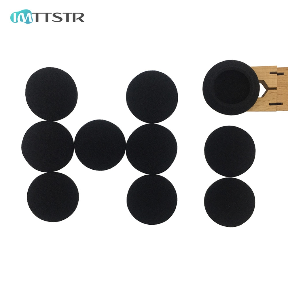 Almohadillas de esponja de espuma suave IMTTSTR para Panasonic RP HS41 HS43 HS46 HS47 HS47E HS50 almohadillas de repuesto para auriculares