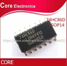 100PCS 74HC86D SOP14 74HC86 SOP SN74HC86DR SN74HC86 SMD neue